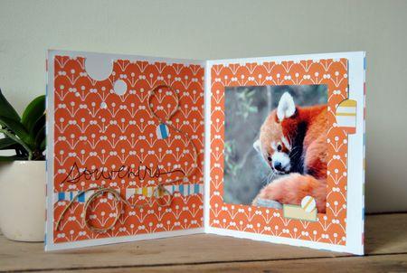Carte Petit Panda int