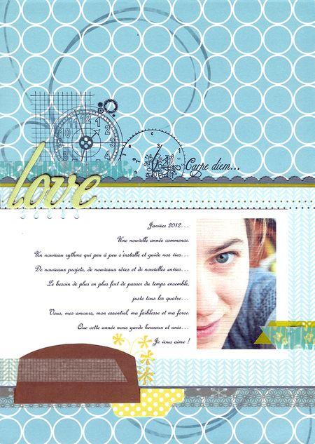 Autoportrait janvier 2012 love